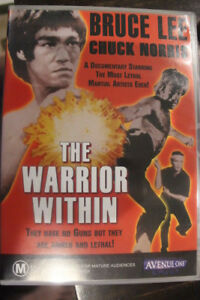 THE-WARRIOR-WITHIN-DELETED-RARE-PAL-DVD-OOP-CHUCK-NORRIS-BRUCE-LEE-DOCUMENTARY