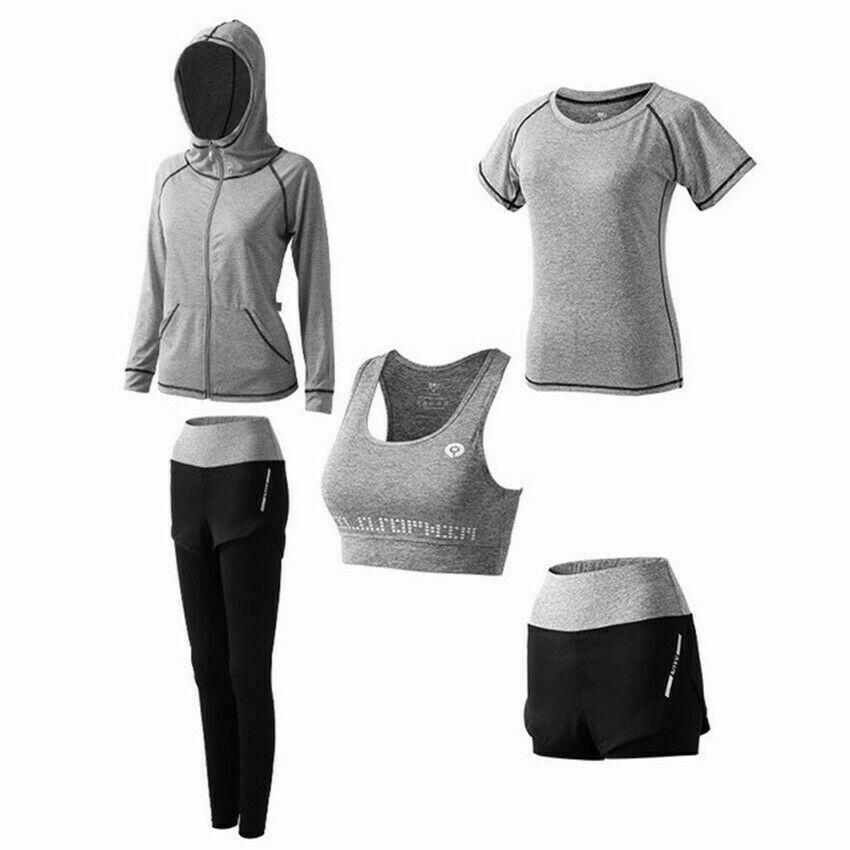 Yoga Kleidung Sportbekleidung Damen Schnelltrocknend Hohe Taille Fitness Lauf