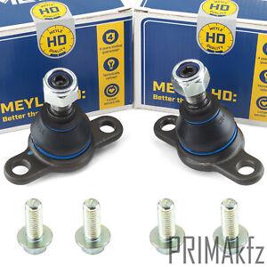 2x MEYLE 1160107001/HD Traggelenk Führungsgelenk Verstärkt Vorne unten für VW T4