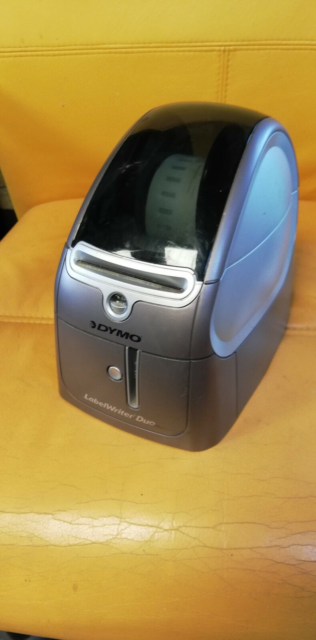 Labelprinter, Dymo labelwrither duo Hurtig og alsidig…