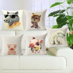Am-HK-18-039-039-Wild-Animals-Linen-Pillow-Case-Waist-Sofa-Cushion-Cover-Room-Decor