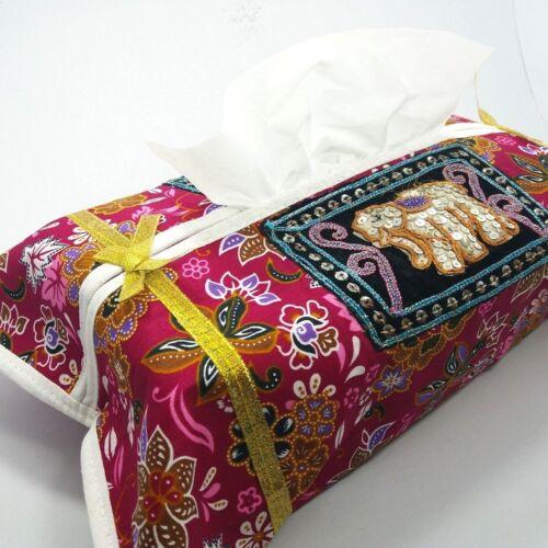 Handmade Thai Napkin Kleenex Tissue Box Cover Car Bed Bath Home Decor Accessory