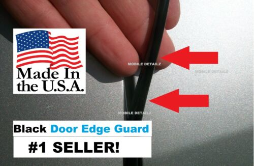 Protection Trim 4 Door Kit USA made! BLACK DOOR EDGE GUARDS fits: FORD