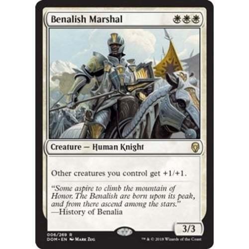Benalish Marshal MTG DOMINARIA