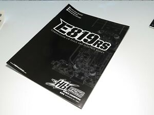 HBS204645 HB RACING E819RS BUGGY INSTRUCTION MANUAL