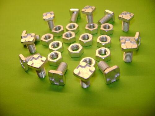 Z 10 Serra in Alluminio Quadrato Standard Testa 11MM bulloni e dadi di vedere anche W