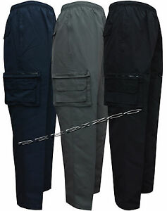 Mens-Cargo-Combat-Jogging-Trousers-Bottoms-Sports-Joggers-Casual-Work-Gym-S-XXL