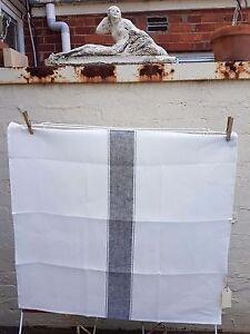 Libeco Belgian 100% Pure Linen Tea Kitchen Towel Ajaccio Black