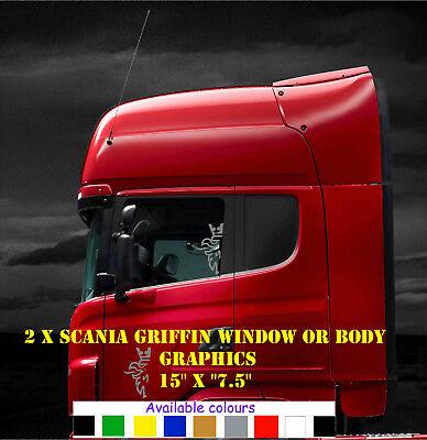 Scania griffins reeds window decals