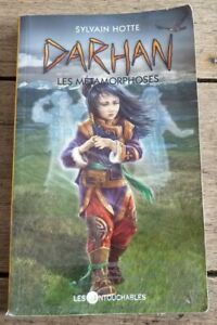 Paperback-French-Pocket-Book-Darhan-Les-Metamorphoses-Sylvain-Hotte