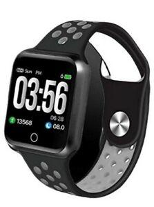 Bluetooth Sports Smart Watch Fitness Tracker Blood Pressure Heart Rate Pedometer