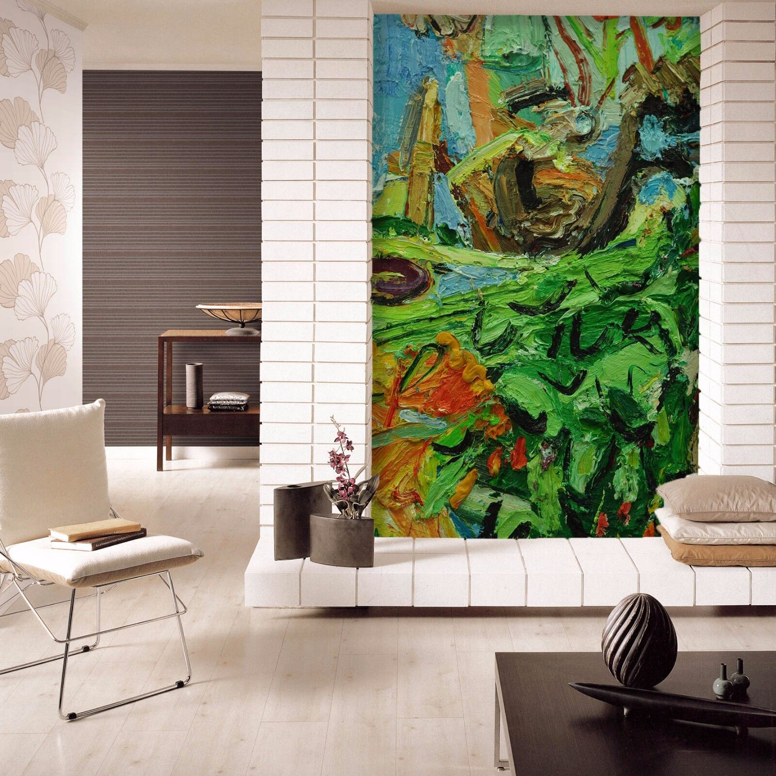 3D 3D 3D Grün Jungle 724 Wallpaper Mural Paper Wall Print Wallpaper Murals UK Lemon be642b