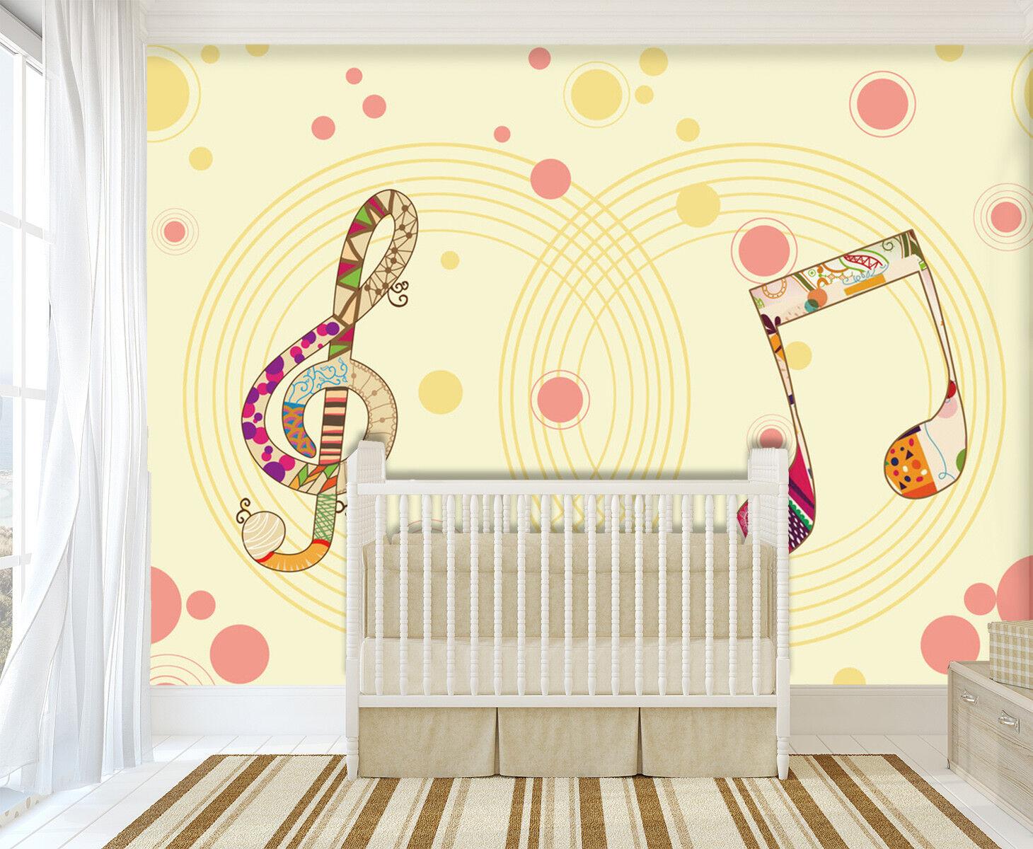 3D Musiknoten Muster 73 Tapete Wandgemälde Tapeten Bild Familie DE Jenny    Perfekt In Verarbeitung    Elegant    König der Quantität