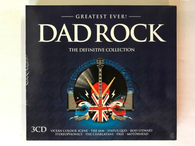 Greatest Ever! DAD ROCK - The Definitive Collection (3CD) NEW & unsealed, BW17