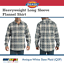 Dickies-Men-039-s-Heavyweight-Flannel-Plaid-Shirt-Long-Sleeve-Pocket-Relaxed-WL652 thumbnail 3