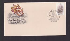 1981-Gold-Rush-Era-by-Artist-Gill-1818-1880-Australia-FDC-M-978-charters-towers