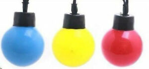 Set-10-Colorata-Retro-Vintage-Stile-Festa-decorativo-PARTY-Lucine-LED