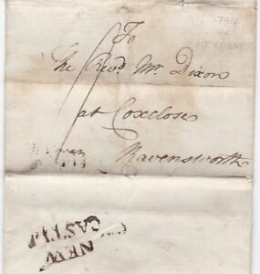 1784-NEWCASTLE-PMK-LETTER-EX-CUTHBERT-TEASDALE-AT-HEXHAM-TO-REV-DIXON-COXCLOSE