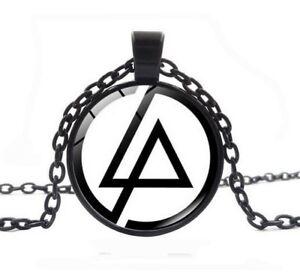 weißer Hintergrund Anhänger Halskette Symbol Gruppe Linkin park