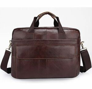 New Men/'s Retro Genuine Cow Leather Messenger Shoulder Bag Handbag Briefcase M
