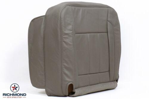 06 07 Dodge Ram 3500 MegaCab Laramie Driver Side Bottom Leather Seat Cover Tan