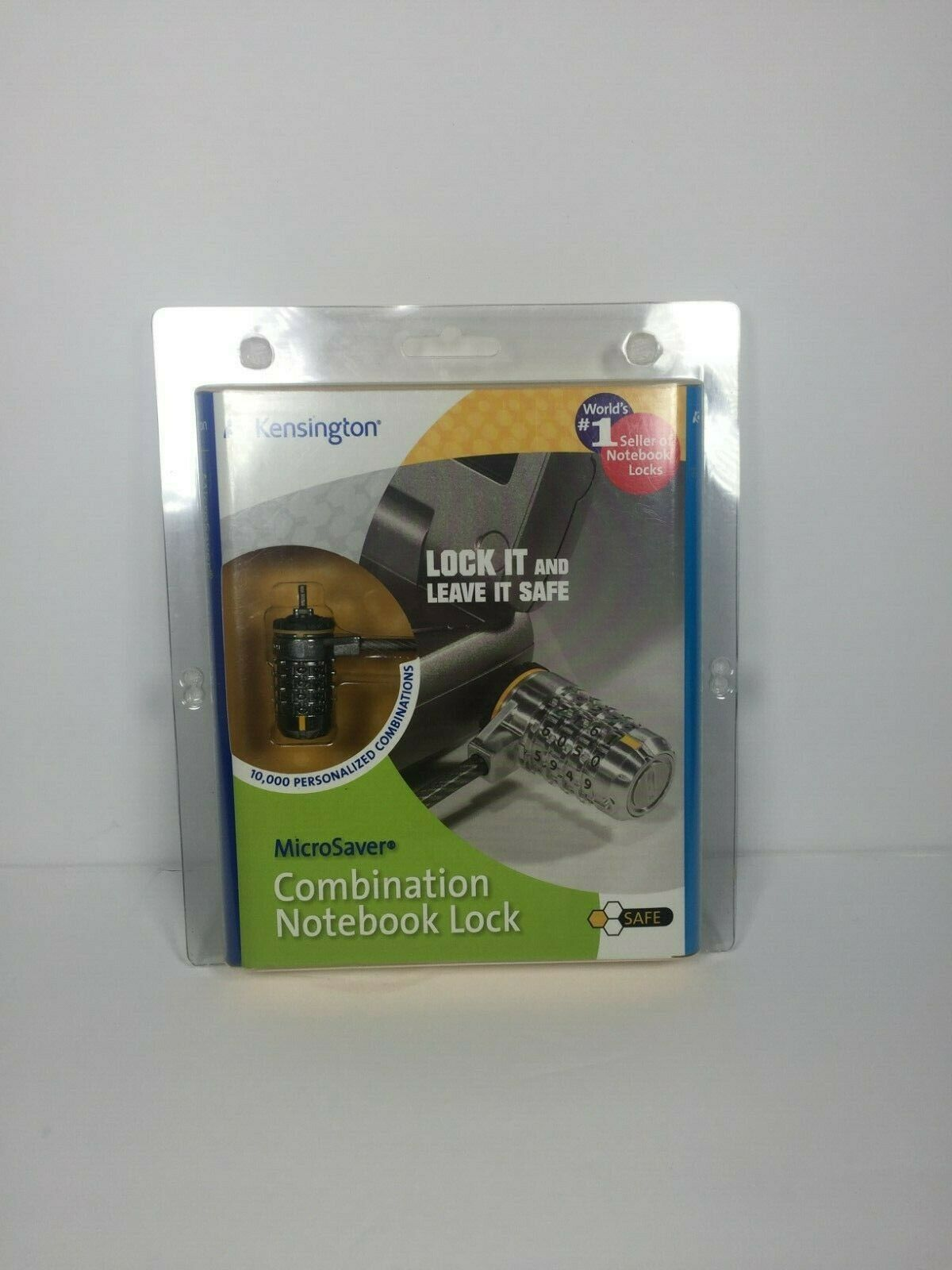 Kensington 64344 MicroSaver Combination Notebook//Computer Lock PC