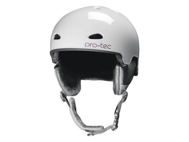 2013 Nwt DaSie Protec Eps Kensington Schnee Helm M L Glänzend Grau Blossom