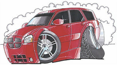 Dodge Magnum Printed Koolart Cartoon T Shirt 1902 Other Colors Available