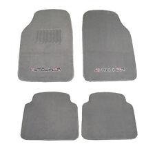 4pc Heavy Duty Carpet Car Mats Compatible with Hyundai104-Gray