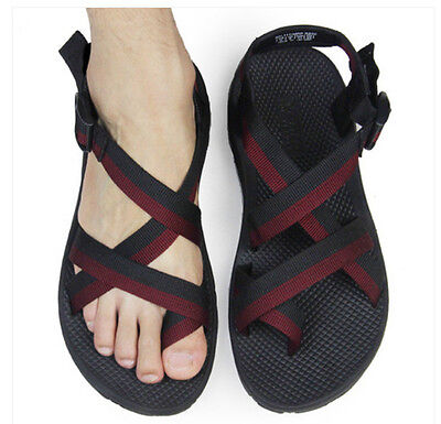 Mens outdoor wading leisure beach sandals summer fashion clip toe casual sandals