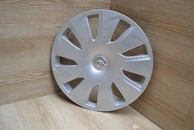 4x ORIGINAL GM Opel Radkappe Radblende SILBER 15 Zoll ASTRA K 13409777