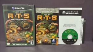 Army-Men-RTS-Nintendo-GameCube-Game-NGC-Tested-Working-Complete-Rare
