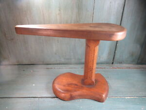 Antique-Jeanette-Iron-Antique-Wood-Walnut-Popular-Art-Ironing-Lavandiere
