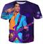 New Fashion Women//Men cartoon character funny 3D Print Casual T-Shirt tee JUH27