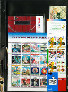 Worldwide-Mint-NH-Modern-Souvenir-Sheet-amp-Booklet-Stamp-Collection