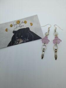 Flower Fairy Earrings Handmade