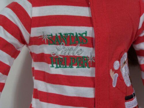 """Debs SANTA Helper Pajamas REINDEER Slippers Doll Clothes For 18/"""" American Girl"""
