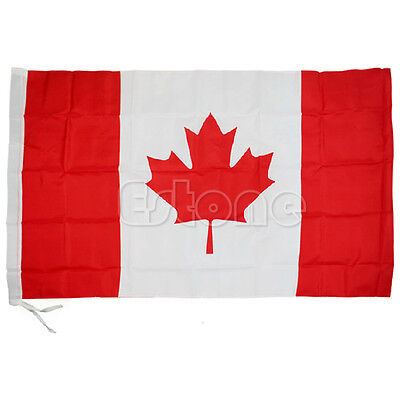 Indoor Outdoor National Flag Country Banner Pennants 3x5 feet USA Canada