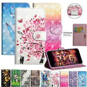 Glitter-Leather-Magnetic-Case-Cover-For-Xiaomi-Mi-A1-Redmi-Note-4-4X-5-Pro-ZTE