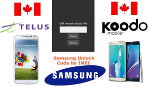 TELUS-KOODO-Unlock-Code-Available-for-All-Samsung-Models-S-J-NOTE-ALL-SERIES