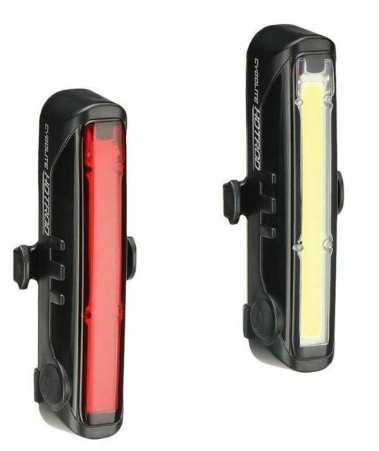 Cygolite Hotrod Front 110 /& Hotrod Rear 50 USB Combo Bike Light Set