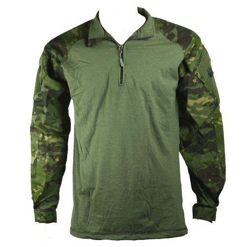 Truspec Tropical Multicam Quarter Zip Body Armour Combat Shirt UBACS