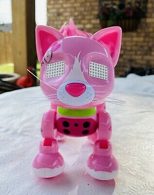 """New Soomer meowzies /""""chic/"""" Interactive Kitten  With lights,sounds and sensors"""