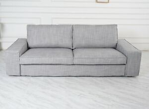Awesome Details About Handmade Cover Fits Ikea Kivik Sofa Series Match Isunda Gray Color Cover Pabps2019 Chair Design Images Pabps2019Com