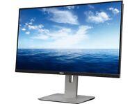 Dell U2715h Black 27 2k Widescreen Lcd Ips Monitor, 2560 X 1440, 1000:1, 350cd/