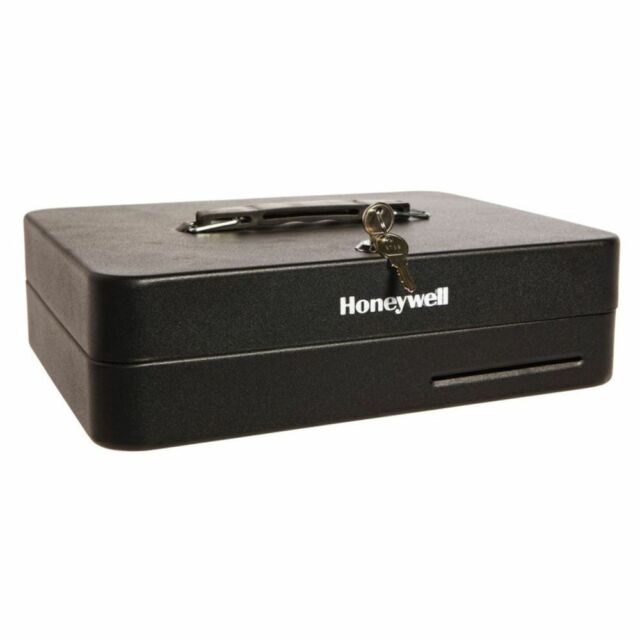 NEW Honeywell Deluxe Cash Box