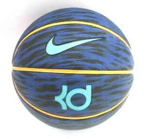 Nike-KD-Kevin-Durant-Youth-Kids-Size-3-Mini-Basketball-Blue-Tiger-Stripe