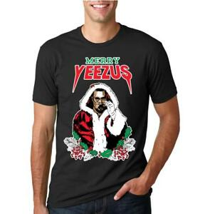 Merry-Yeezus-Xmas-Kanye-Ugly-Christmas-Mens-Tshirt