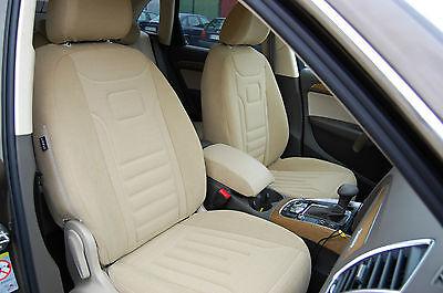 VW Touran I Maßgefertigte Sitzbezüge Velours Stripes TrueColorRot