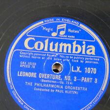 "78rpm 12"" orphan COLUMBIA L.X.1070"